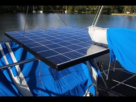 sailboat generator ep 09 solar wind generator installed on our sailboat