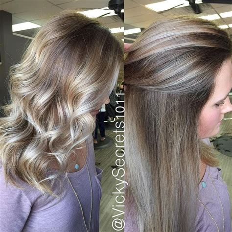 platinum silver blonde balayage silver platinum balayage google search hair