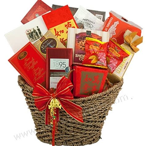 new year gift to in fortune new year gift basket