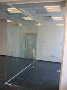Glass Door Partition Office Partitioning Frameless Glazed Storage Concepts