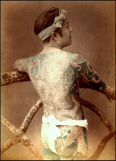 world   japanese tattoos circa late  vintage