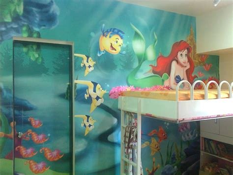 the little mermaid bedroom decor little mermaid room decor office and bedroom charming