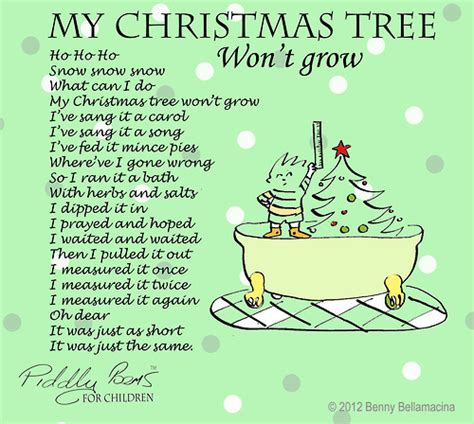 benny bellamacina s my tree won t grow a poem taken december 24 2012 05 28