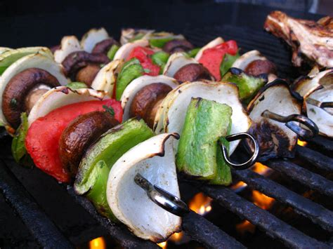 vegetables kabobs recipe goodness grilled thyme cumin vegetable kabobs