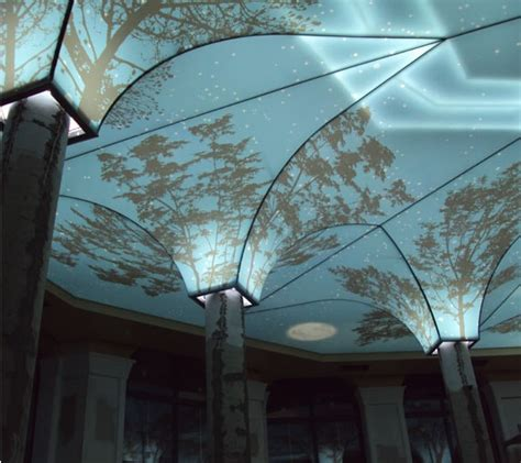 Creative Ceiling Coverings - imported custom stretch fabric ceilings and wall covering