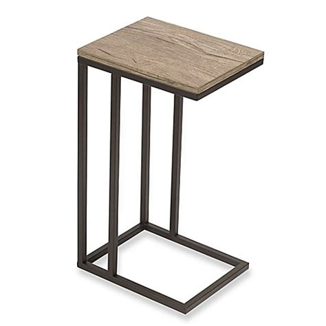 bathroom accent tables c table with metal base bed bath beyond