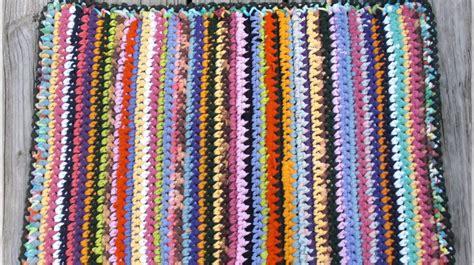 debs crochet crochet today rectangle rag rug
