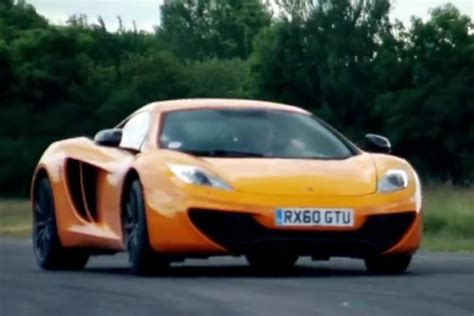 mclaren mp4 12c top gear mclaren mp4 12c celebrates second power time