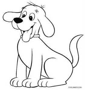 clifford the big coloring pages printable coloring pages for cool2bkids