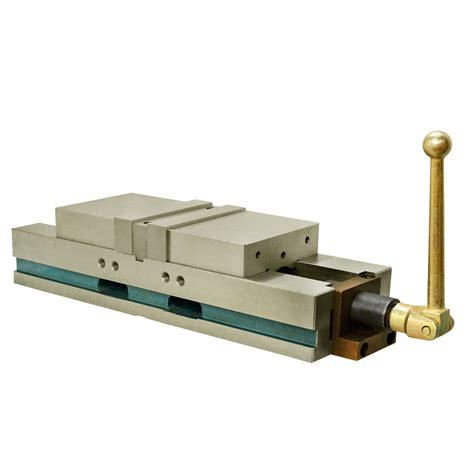 """6"""" CNC Double Vise Milling Lock Down Hardened .0004 Milling Mill Clamp"""