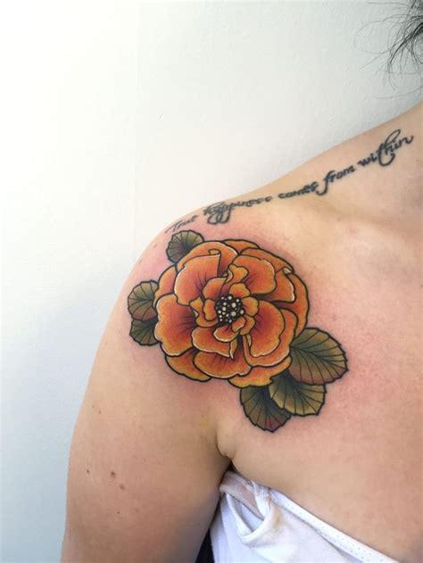 marigold tattoo best 25 marigold ideas on october