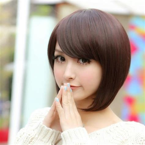 potongan rambut pendek sebahu ala korea potongan rambut