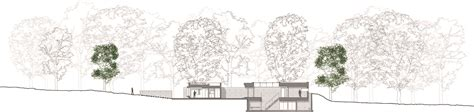 rainforest sections new forest house pad studio archdaily