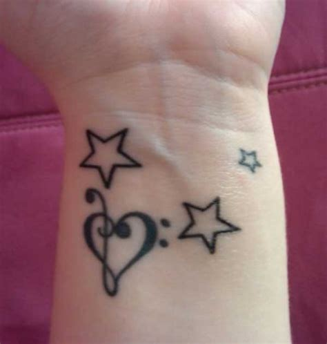 star tattoos on wrist meaning feminine images designs
