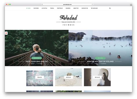 layout fashion blog 40 best minimalist wordpress themes for creatives 2018