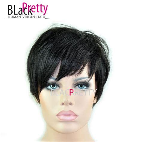 pixie cut human hair wigs 2015 new pixie cut human natural hair wig rihanna black