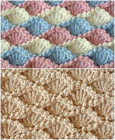 crochet pattern instructions questions textured shell crochet stitch diy