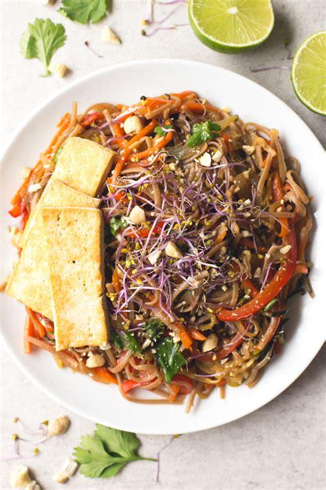vegan pad thai simple vegan