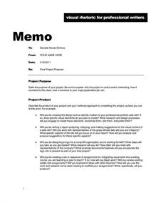 How To Write A Memo Template by 6 Memorandum Exle Memo Formats