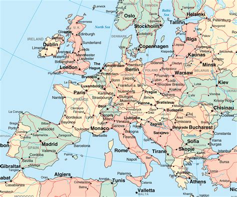 printable map of printable maps of europe estarte me