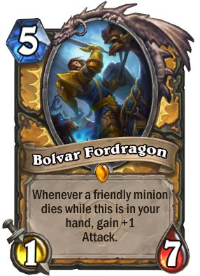 Bolvar Fordragon Meme - bolvar fordragon hearthstone cards