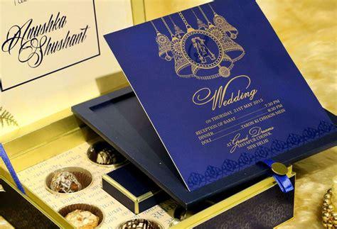 wedding cards design blue blue bell voguish wedding invitations