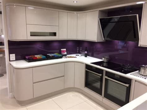 gloss purple kitchen cabinets quicua sheraton in line high gloss ex display kitchen