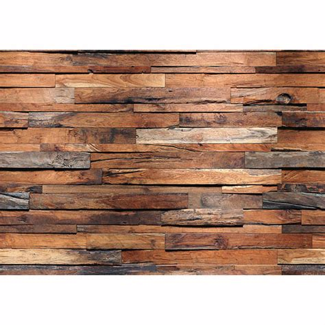 wooden walls reclaimed wood wall mural ideal d 233 cor murals