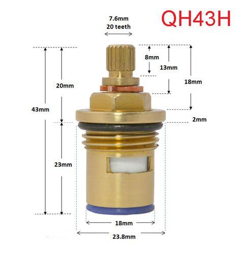 Glacier Bay Kitchen Faucet Diagram replacement ceramic disc cartridges tap valves quarter
