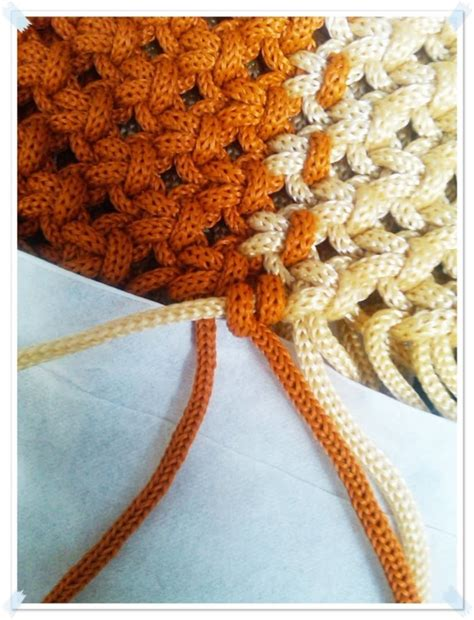 cara membuat tas dari tali kur motif sisik ikan cara mudah membuat tas dari tali kur untuk pemula beserta