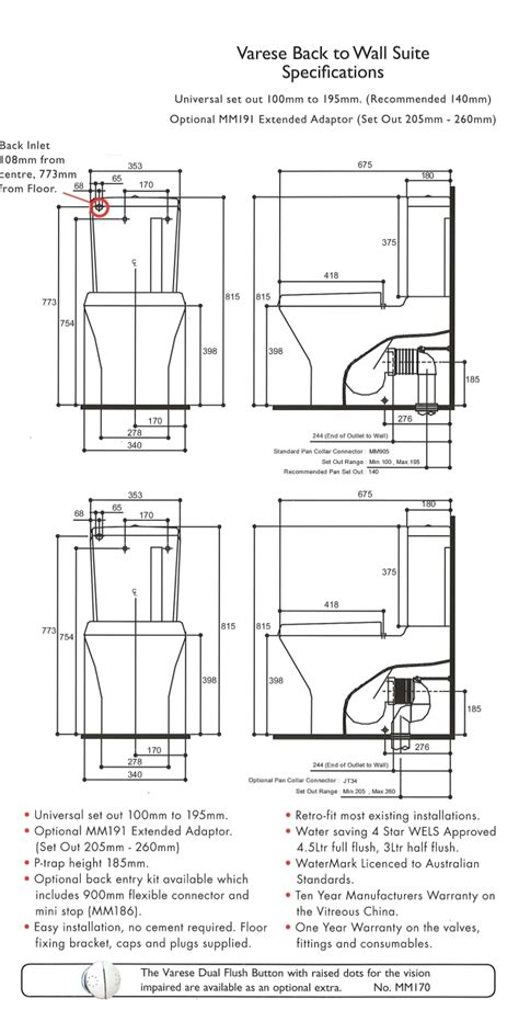 villeroy boch subway toilet installation instructions benton s finer bathrooms linea varese btw toilet suite