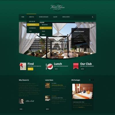 theme drupal hotel hotels drupal themes templatemonster