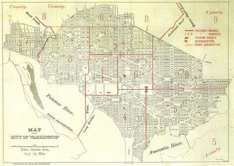 washington dc map society mpd facilities