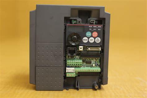 mitsubishi e700 rblt mitsubishi e700 vfd inverter ac drive fr e740 060 na
