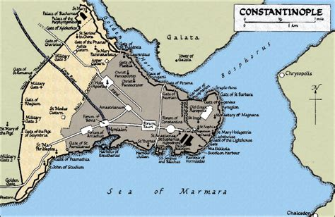 si鑒e de constantinople location of constantinople byzantium on map were is
