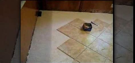 How to Tile a kitchen floor with a border « Interior