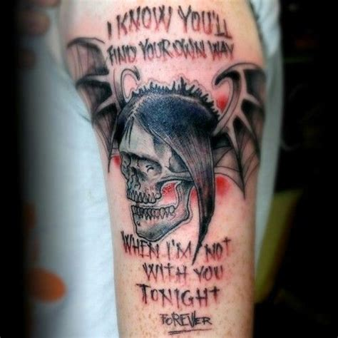 another avenged sevenfold avenged sevenfold tattoo by