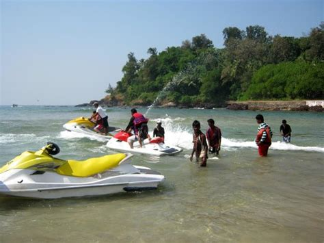 water scooter in goa jet ski water scooter picture of baga beach calangute