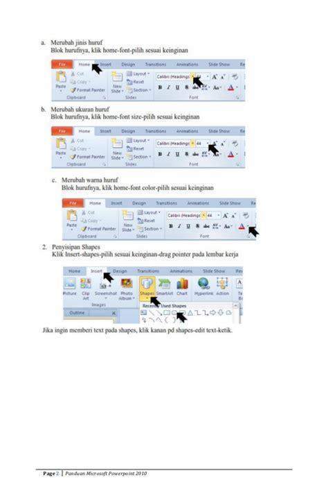 panduan membuat oralit panduan membuat powerpoint