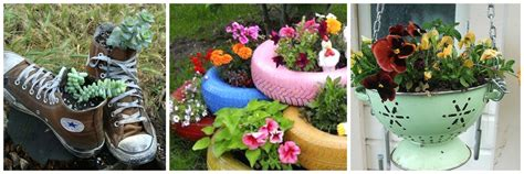 creative garden containers diy gardening gardening projects for small spaces