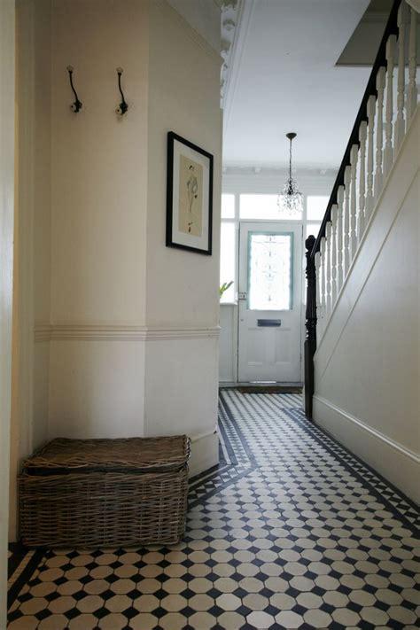 coating finishing tiled hallway hall flooring floor