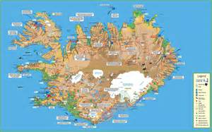 travel map of travel map of iceland