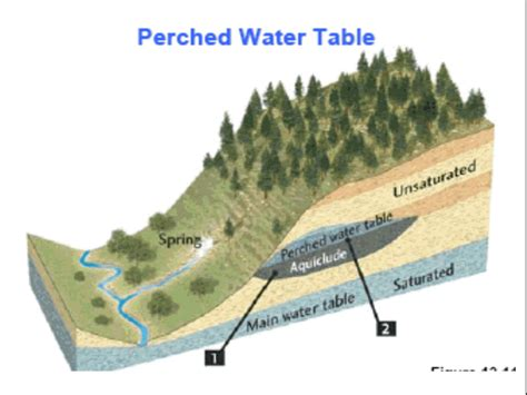 what is a water table opinions on perched water table