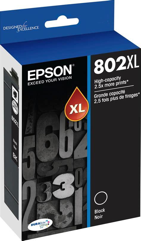 Catridge Hp802 Black epson 802 black xl ink cartridge 1 toner kiosk