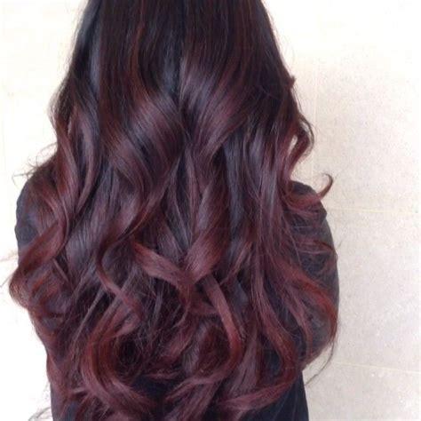 dark red burgundy hair adorable hair affair very pretty cute hair pinterest deep burgundy