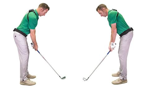 shoulder position in golf swing golf basics address alignment tips the golftec scramble