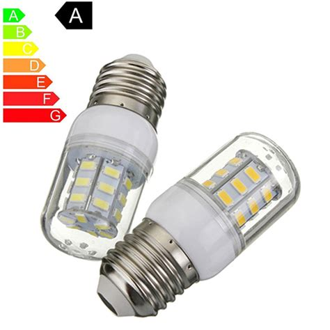 Bright Led Light Bulb E27 27 Led Light Bulb 5730 Smd Bright Energy Saving L Corn Lights Spotlight Bulb White