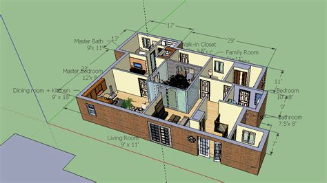 home design using google sketchup google sketchup bungalow model bungalow layout cloud atlas