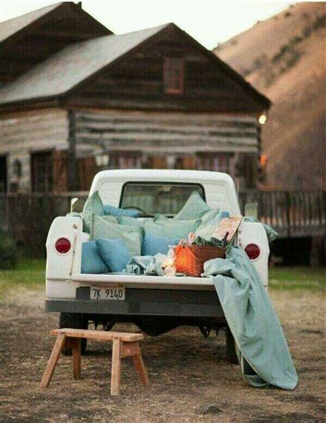 truck bed date truck bed made for star gazing nights date night ideas