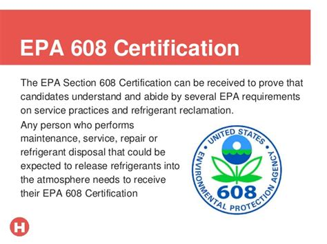 epa section 608 practice test hvac certification guide
